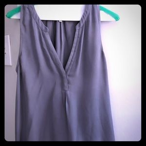Joie lavender sleeveless silk blouse